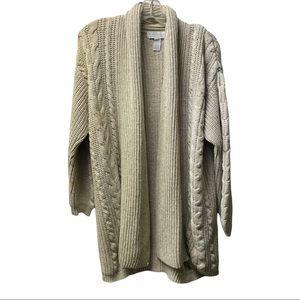 Paris Spon Club knitted cardigan medium